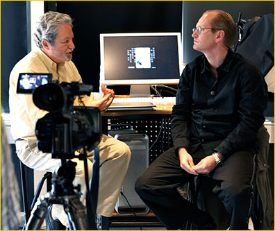 Michael interviewing Phase One President Henrik Hakonsson