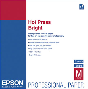 Four New Fine Art Papers From Epson For 2010 - Luminous