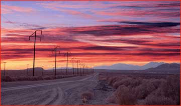 Image result for sunset desert usa