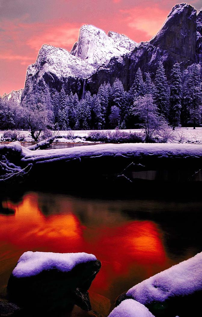 Sunrise Merced River