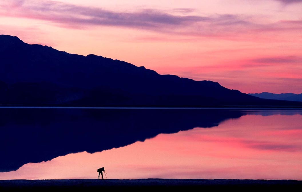 Sunset Photographer At Badwater