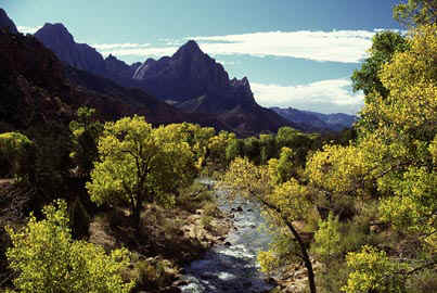 View From Zion Bridge