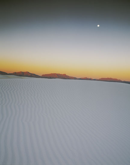 Dawn, White Sands Pentax 67II