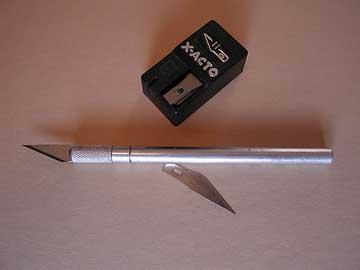 exacto knife mat