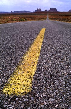 Yellow Strip Highway