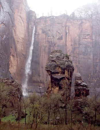 Zion Waterfall