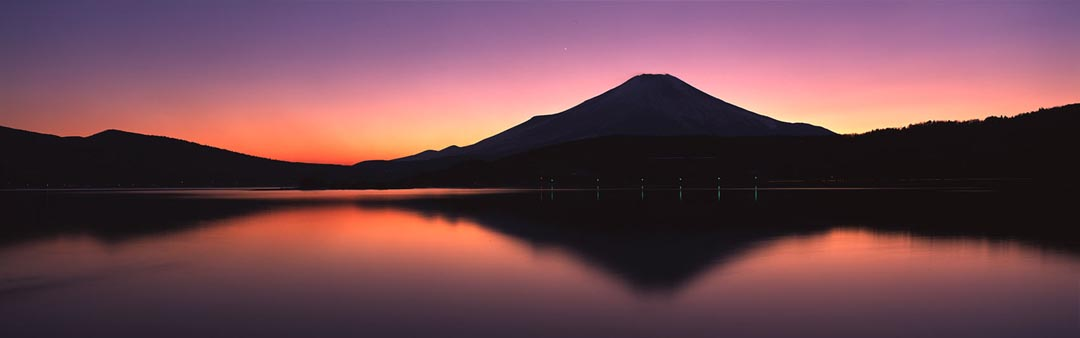 Fuji Eevening Reflection