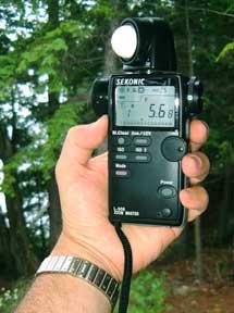 Sekonic zoom master l-508 light meter instruction book / manual.