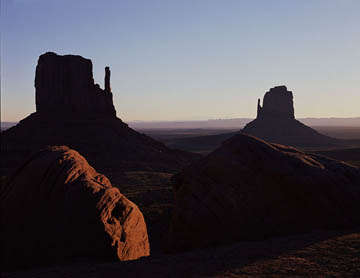 Mittens at Sunrise - Monument Valley