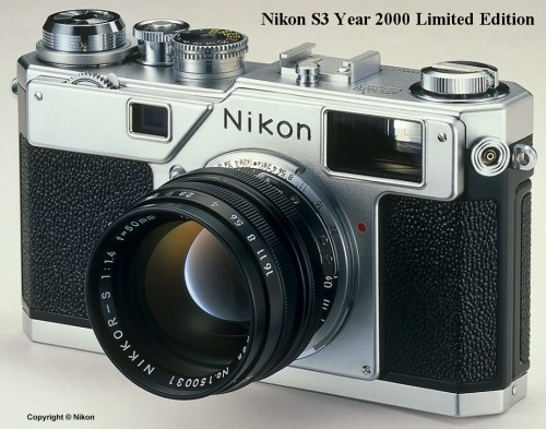 Nikon S3 Year 2000 Limited Edition