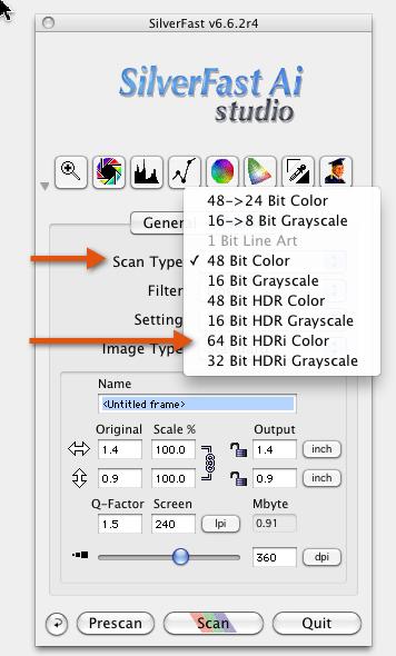 Scanning Colour Negatives: Raw or Not? - Luminous Landscape