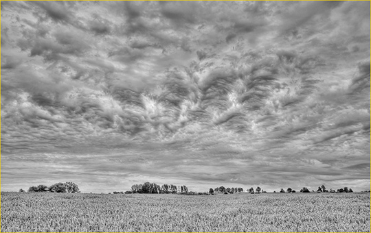 Sky Waves, Clearview, Ontario. July, 2011 Fuji X100 @ ISO 200