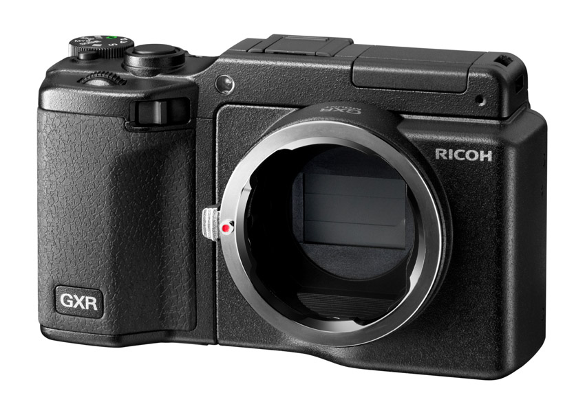 Ricoh GXR With Mount A12 - Bayer Pattern Sensor, No AA Filter