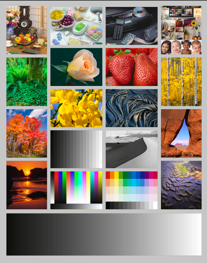 what's the gold standard of inkjet papers? - luminous landscape - Color Test Page Inkjet Printer