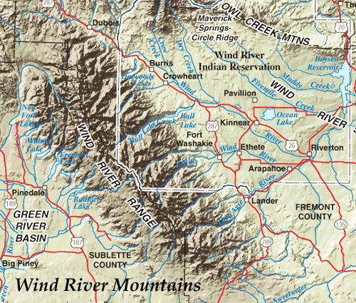 Wind River Mts