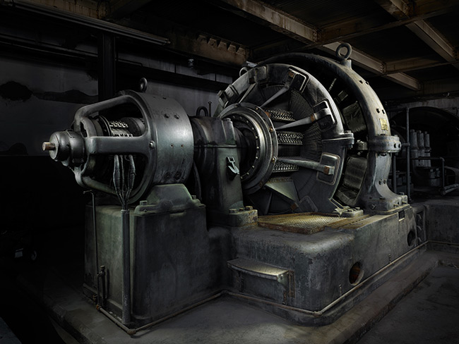 Sculpting with light luminous landscape anselmo generator this image is of one of the huge generators that powered the pully system that lowered men and mules into the mines in butte montana aloadofball Image collections
