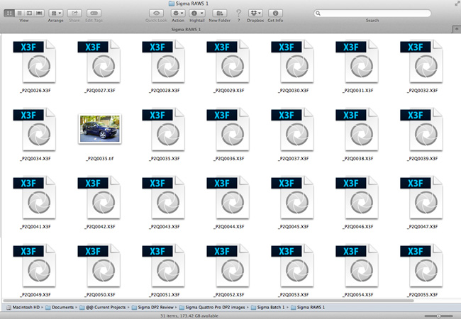 Impossible To See A Preview Of A File At Finder Level