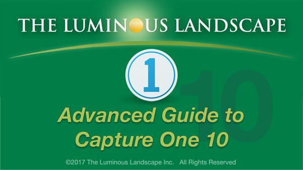 Capture One 10 Update Tutorial