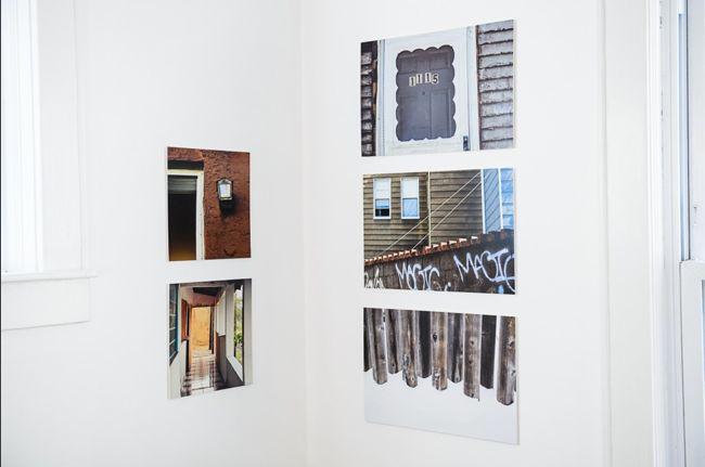 Figure 6: Corner Group of Dissimilar Prints by Ananda Lima, photo courtesy Ananda Lima