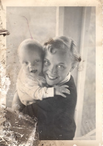 Priceless - My mother and me as a baby - 61 years ago if this was on my iPhone I wonder if would have something like this