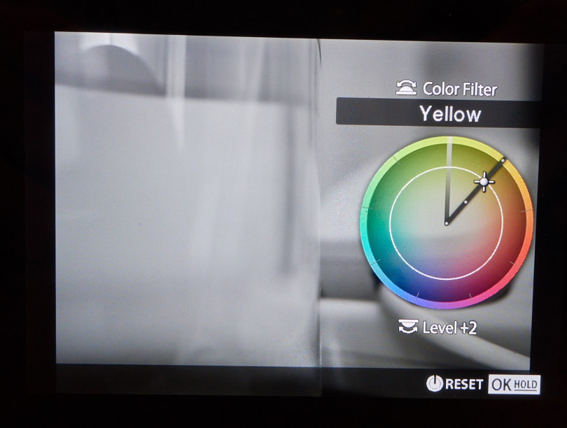 Mono mode color filter selection