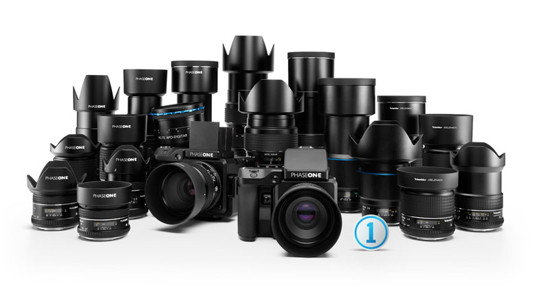 The Phase One Line Of Cameras and Lenses