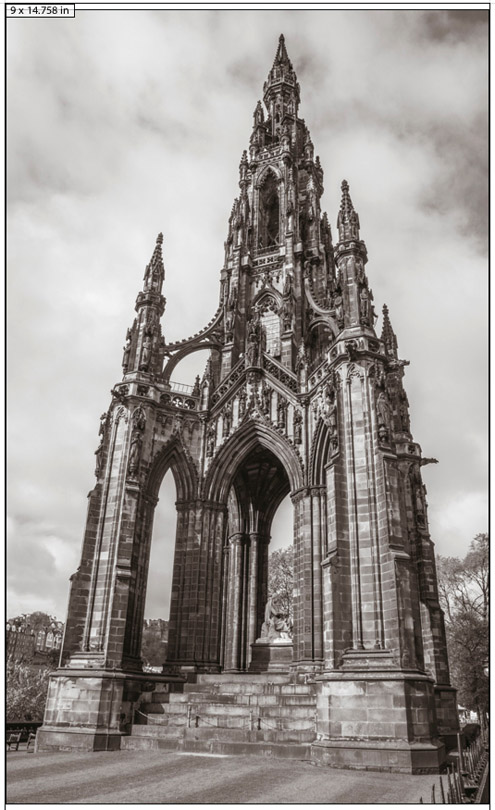 Figure 13. Scott Monument, Edinburgh