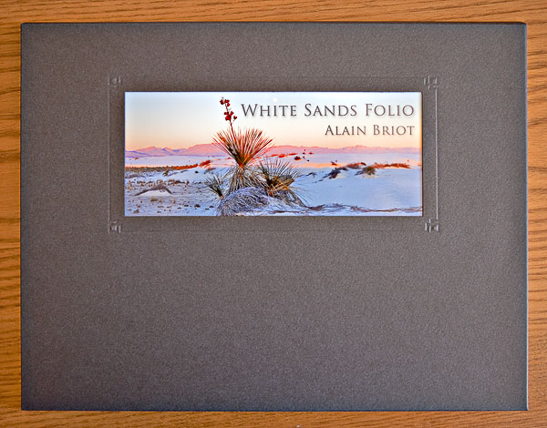 An example of a project: The White Sands Folio
