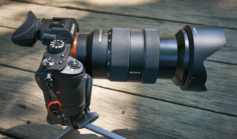 Sony A7r II with 24-700mm G-Master lens