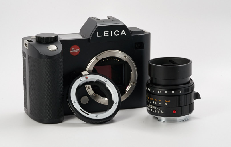 Leica SL with M-Mount Adapter