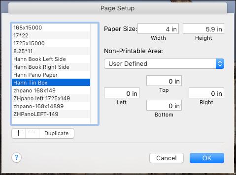 Hahnemuhle Paper Panorama Paper Photo Album And Tin