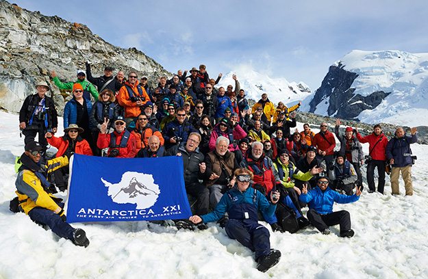 Our last Antarctica group shot