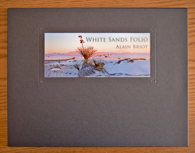The White Sands Folio enclosure
