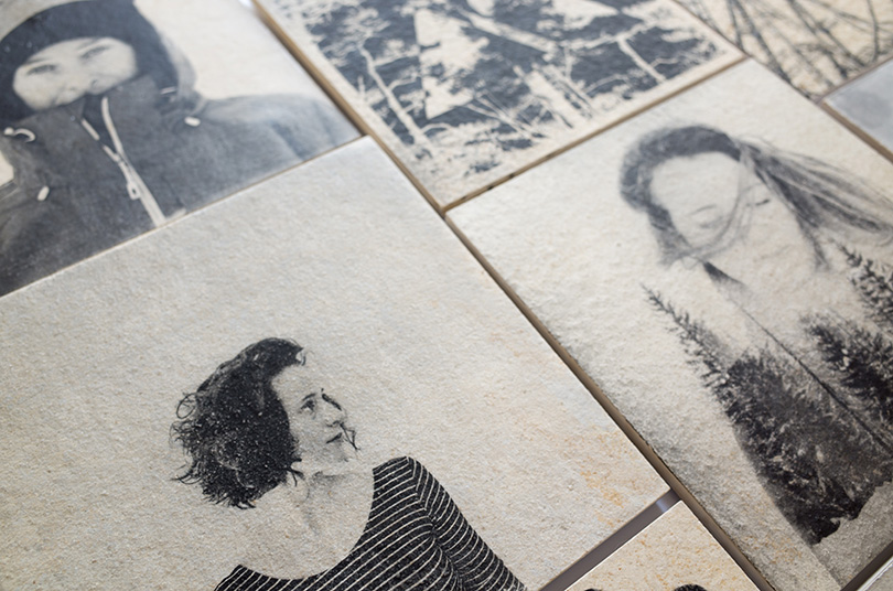 A selection of prints on Stone