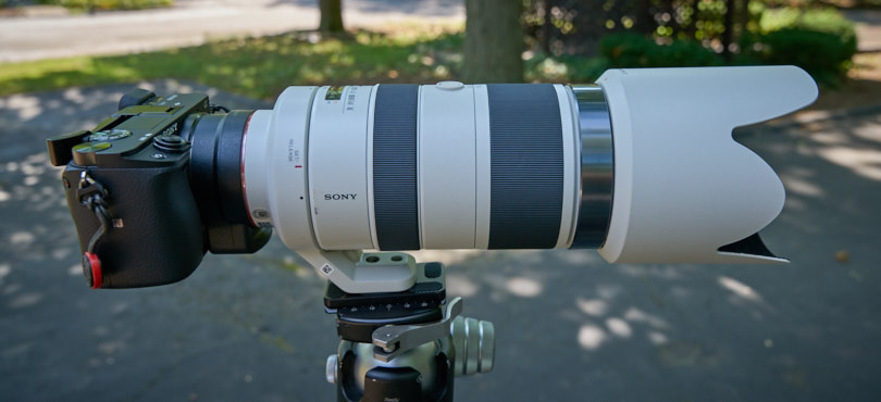 Sony A6300 and the Sony 70-400mm lens