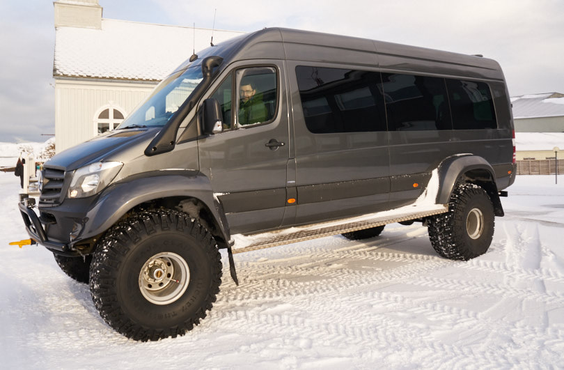 One of our 4WD Vehicles