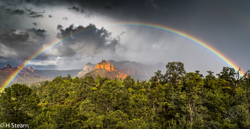 """Red Rocks & Rainbows"" (Pentax 645 Z (51 MP) ISO 800, 1/320 s @ f11.0)"