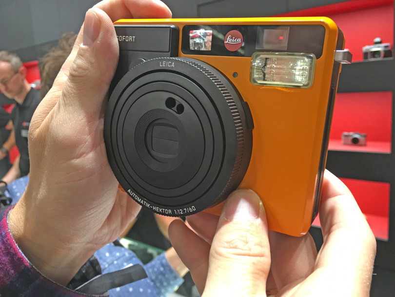 The Sofat instant camera by Leica