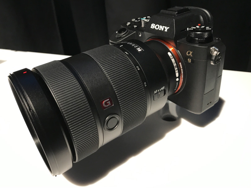 Sony a9 Camera with the 24-70mm G-Master lens