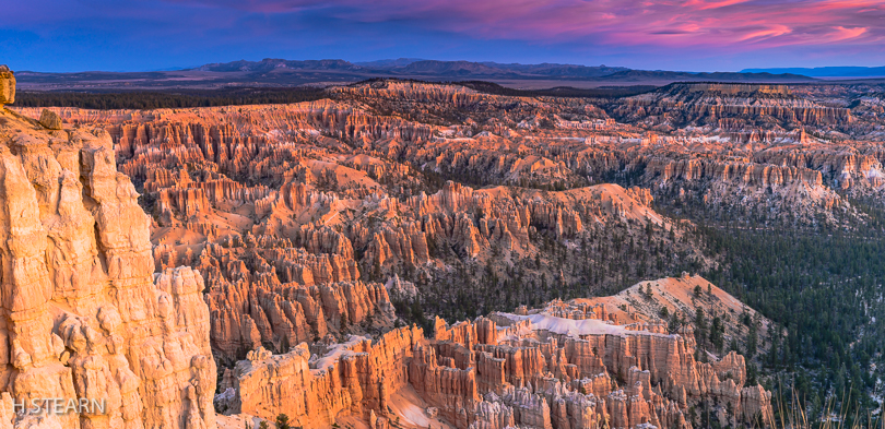 """ Bryce Sunrise"" H Stearn"