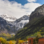 """Early Autumn, Telluride, CO"" H Stearn"