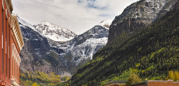 """Early Autumn, Telluride, CO"" H Stearn"