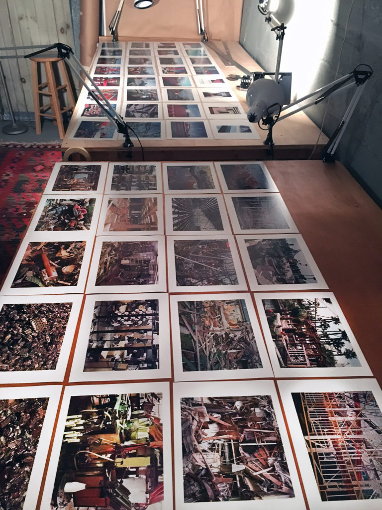 14 A portion of the images considered for the book.