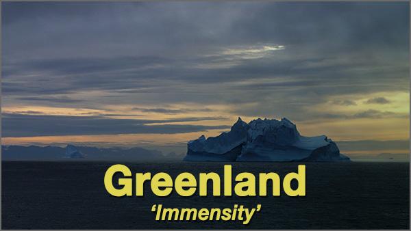 Greenland 'Immensity' – 2016