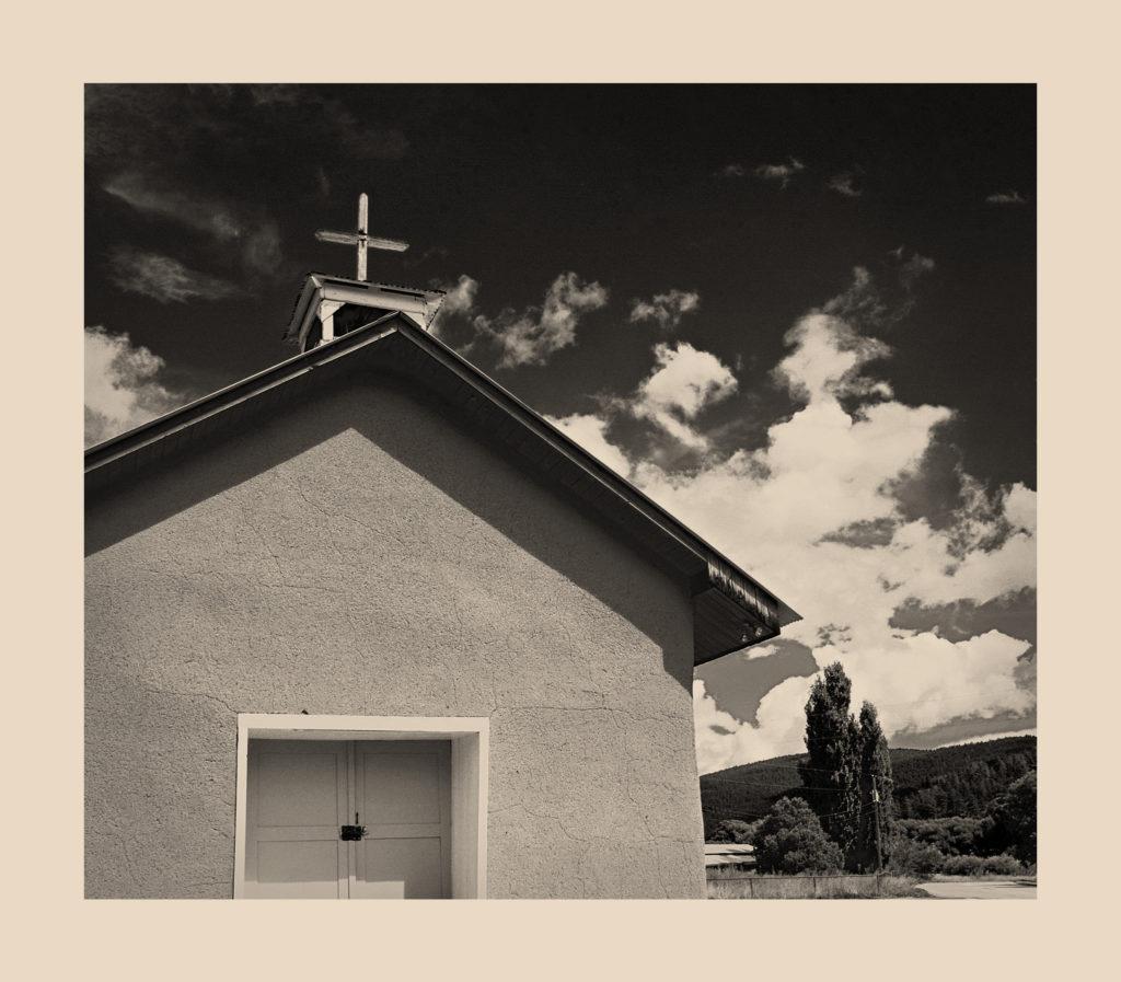 """San Jose Mission Church II, Upper Rociada, New Mexico"""