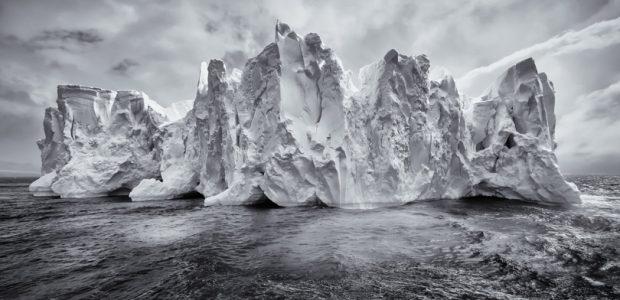 Iceberg In Black And White 2