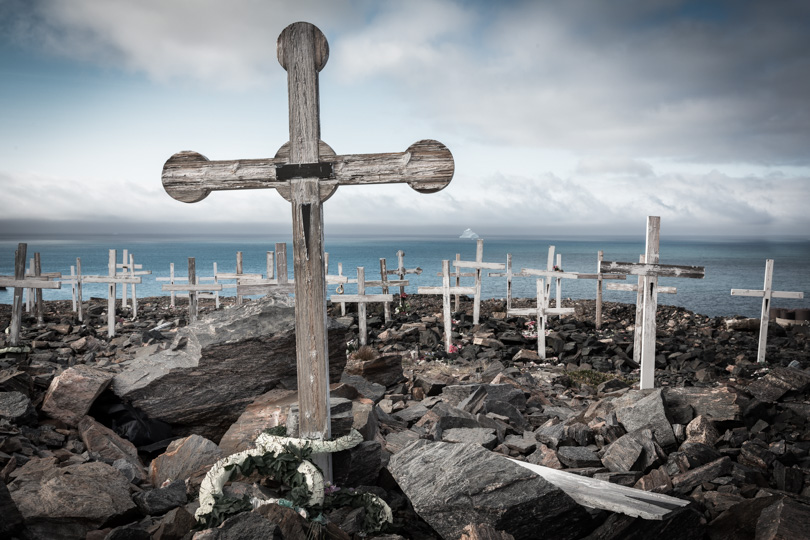 Graves In Antarctica