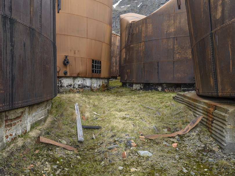 Whale Oil Containers, Grytviken, South Georgia
