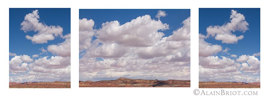 Clouds Triptych #11