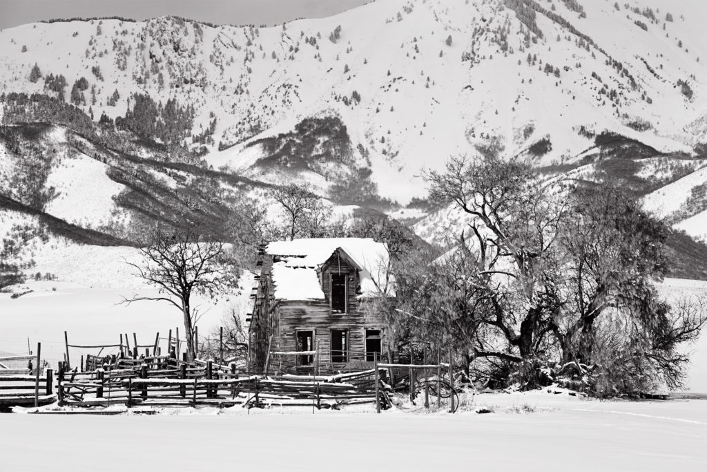 Baxter house in Northern Utah